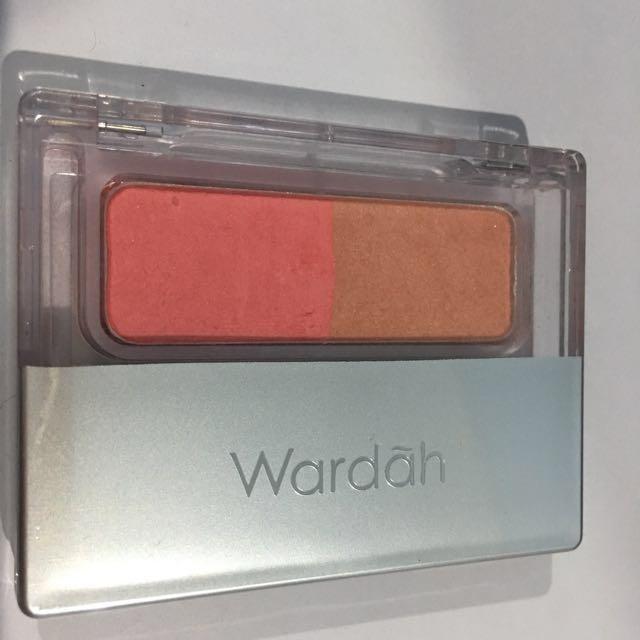 blush on wardah seri C (pink peach)