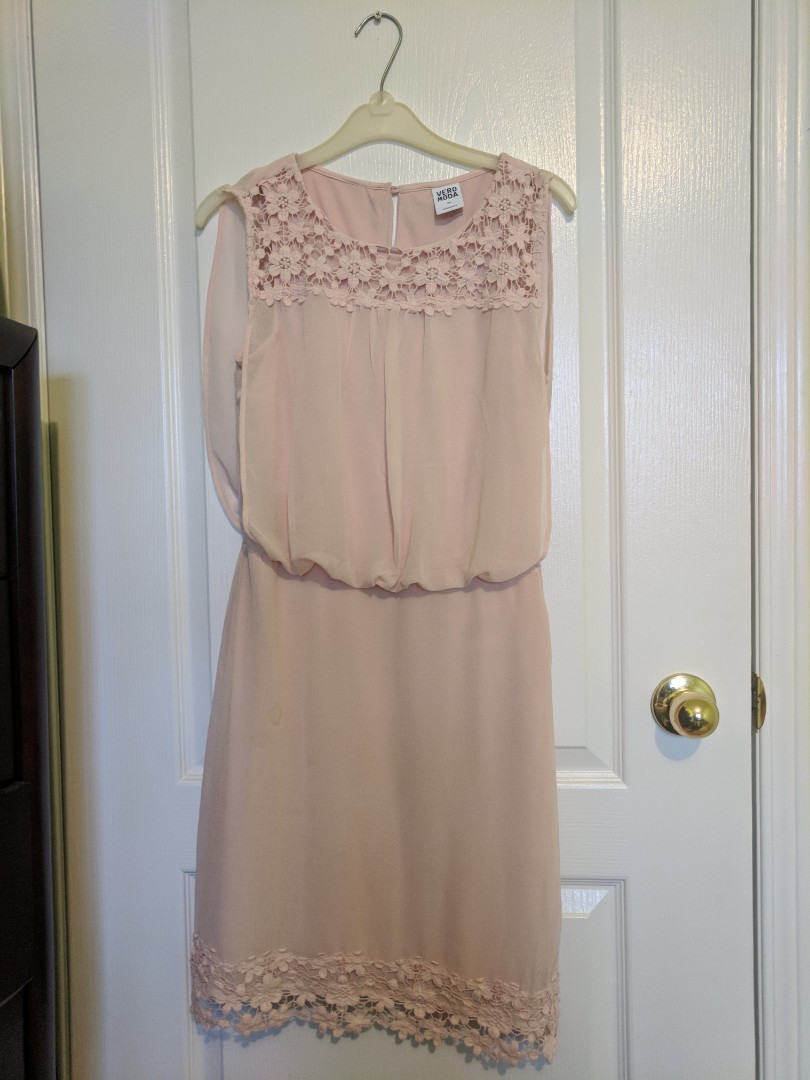 Blush pink Vero Moda dress sz XS