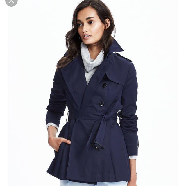 BNWT Banana Republic trench coat