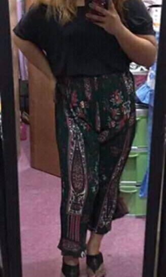 Bohemian inspired square pants