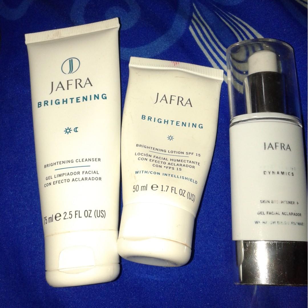 Brightening Set Jafra Health Beauty Skin Bath Body On Carousell Spa