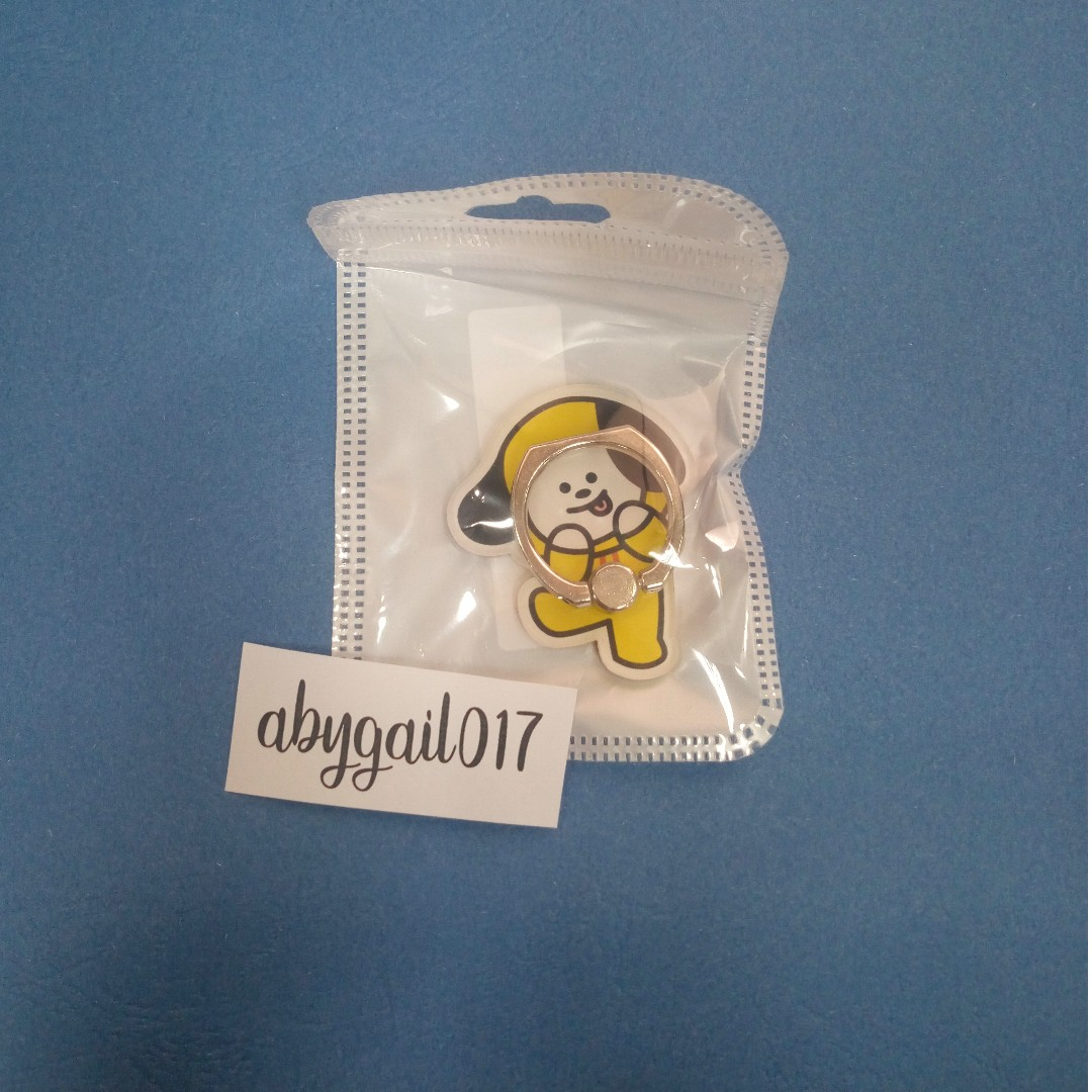 BT21 CHIMMY RING STENT [ON-HAND]