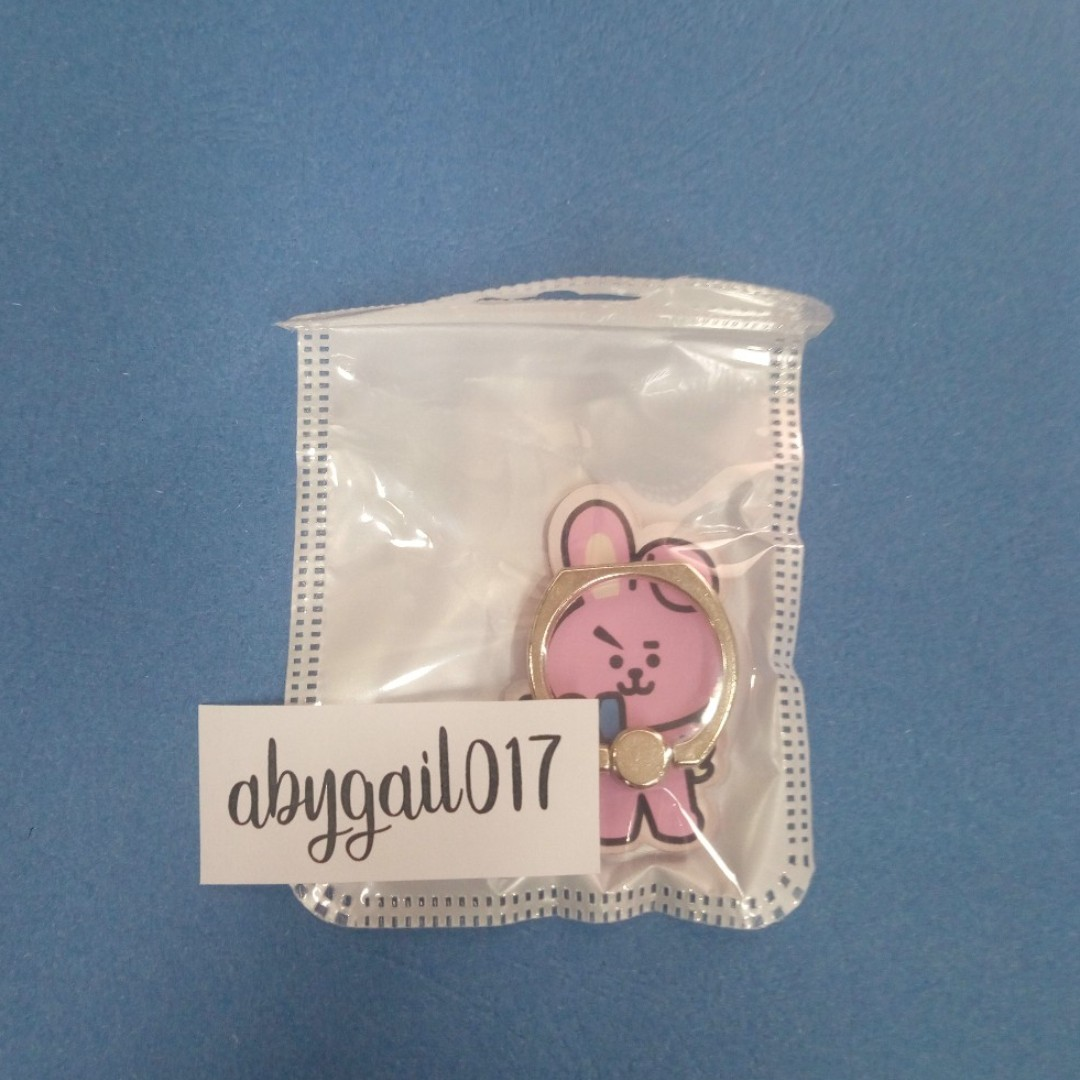 BT21 COOKY RING STENT [ON-HAND]