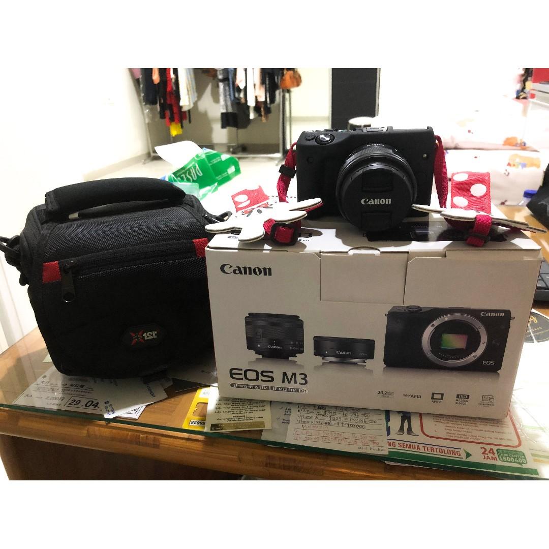 Camera Canon EOS M3 MIRRORLESS ORIGINAL Second