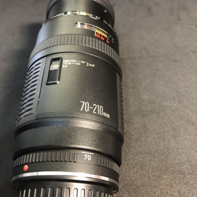 Canon EF 70-200 變焦鏡頭