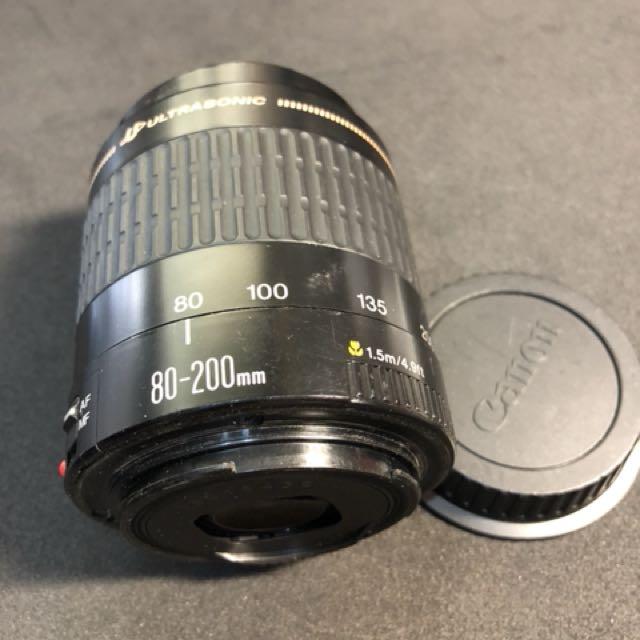 Canon EF 80-200 中長焦鏡