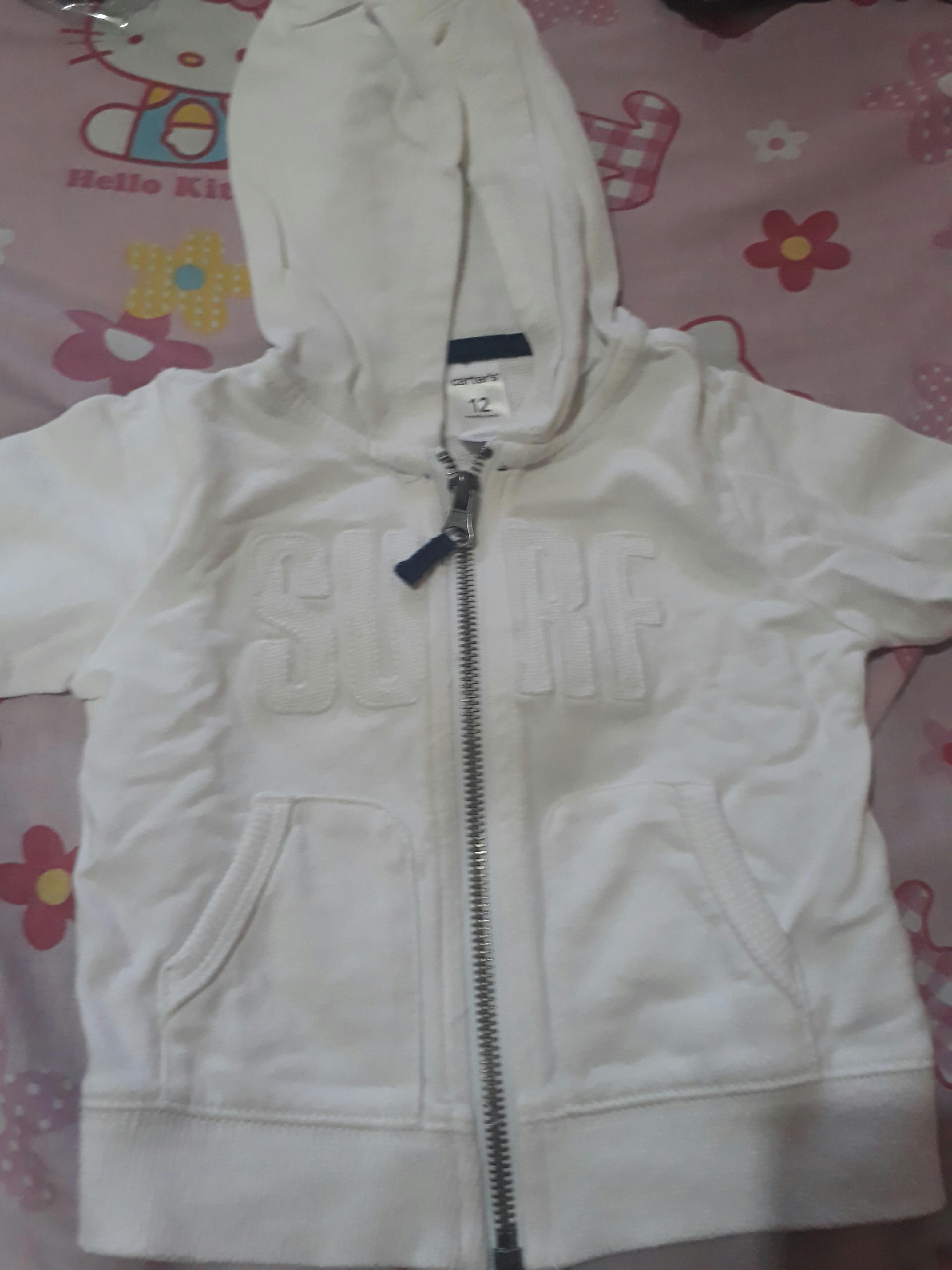 Carter white hoodie