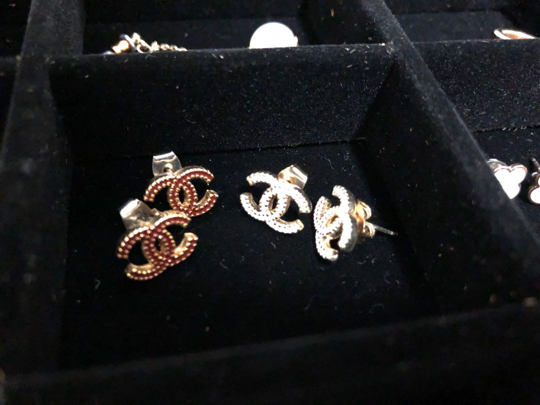 Chanel style earrings