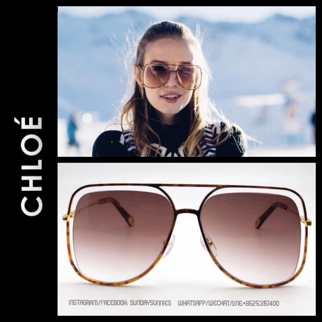 f0fbe624f6e Chloe Poppy CE130s Aviator sunglasses 太陽眼鏡
