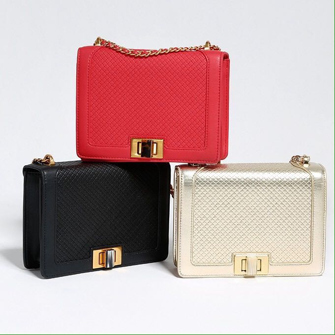 CLEARANCE! Authentic Charles & Keith Square Sling