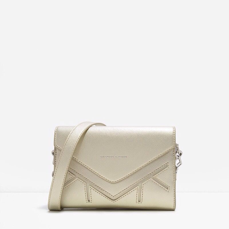CLEARANCE! Off Season Authentic Charles & Keith Clutch Sling