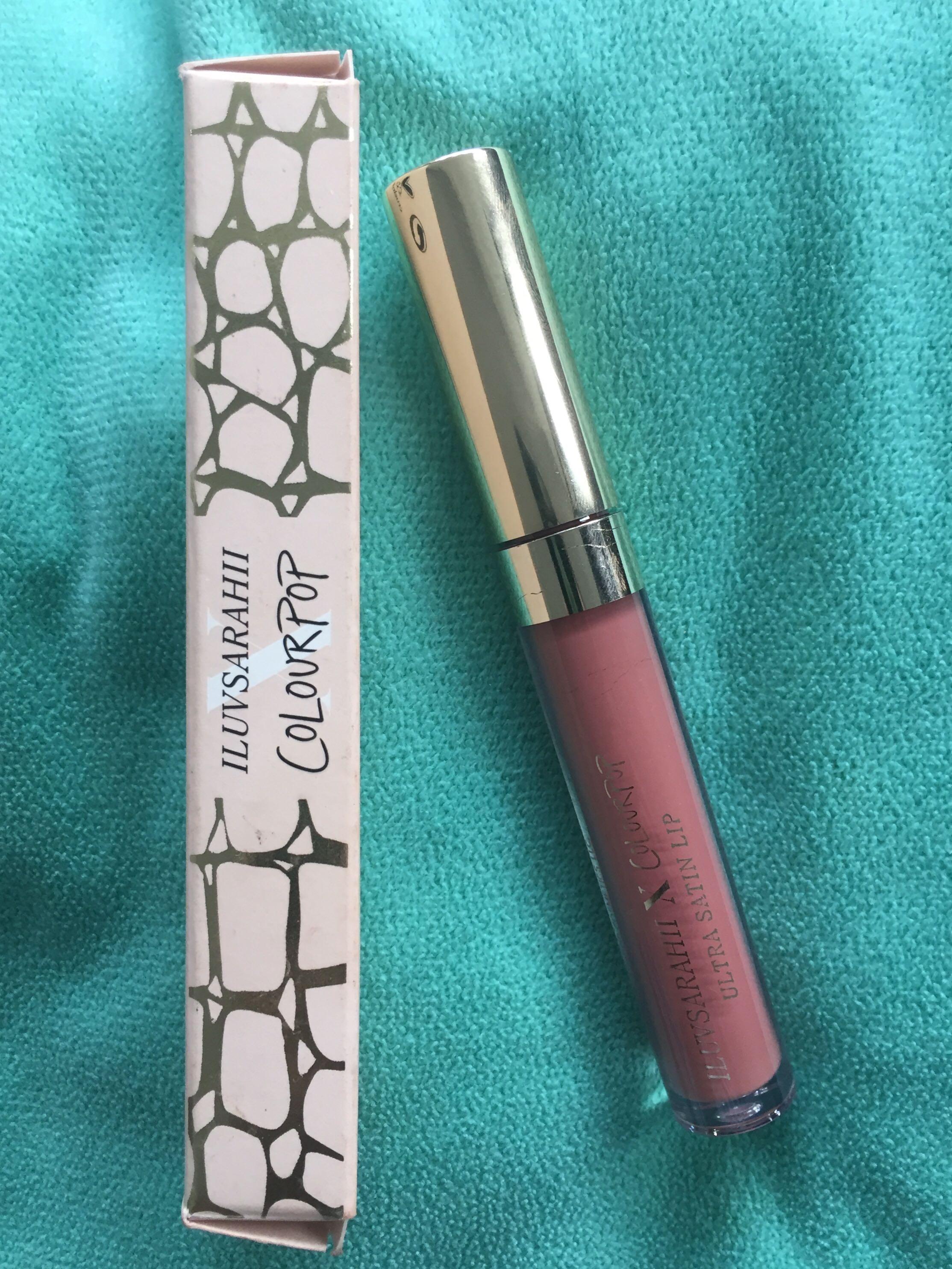 Colourpop X iluvsarahii Liquid Lipstick