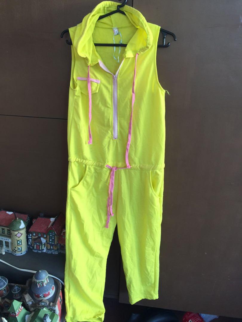 Cotton jumpsuit / sleepwear