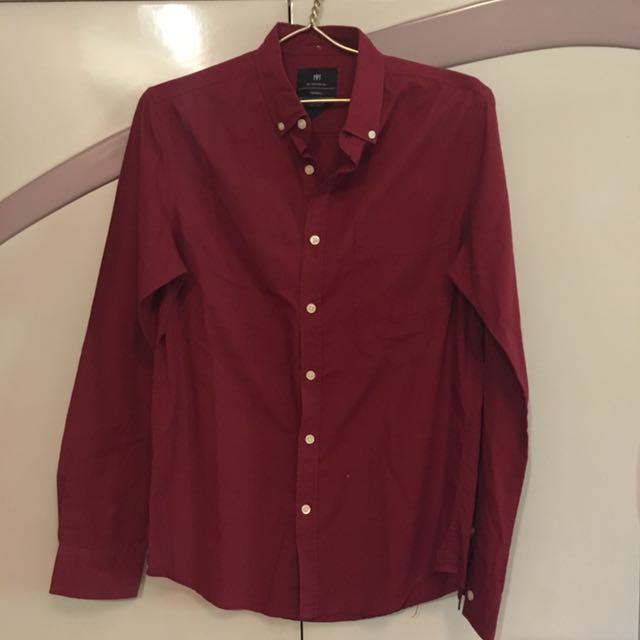 <Cotton On> Red Long Sleeves for Men