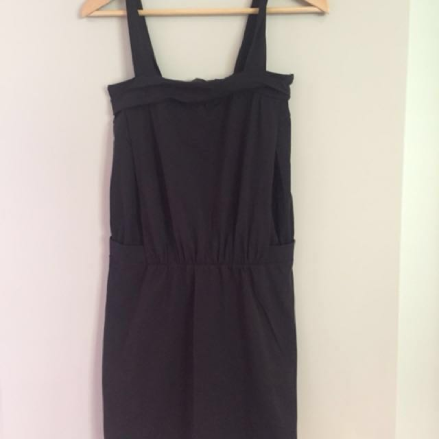 Country Road black cotton dress