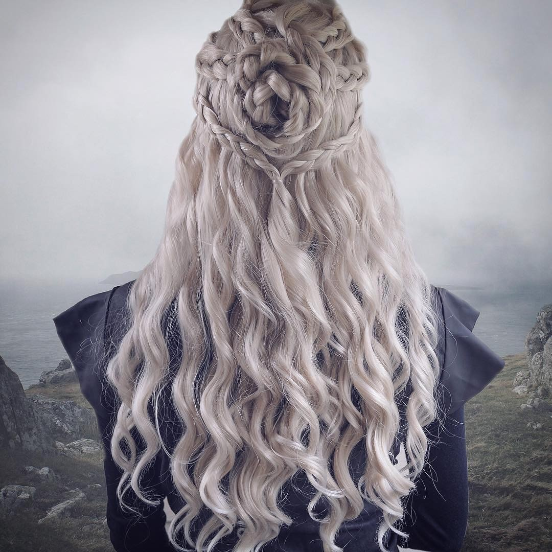 Daenerys Game of Thrones Lace Front Wig Negotiable