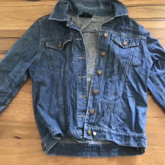 Denim jacket perfect condition