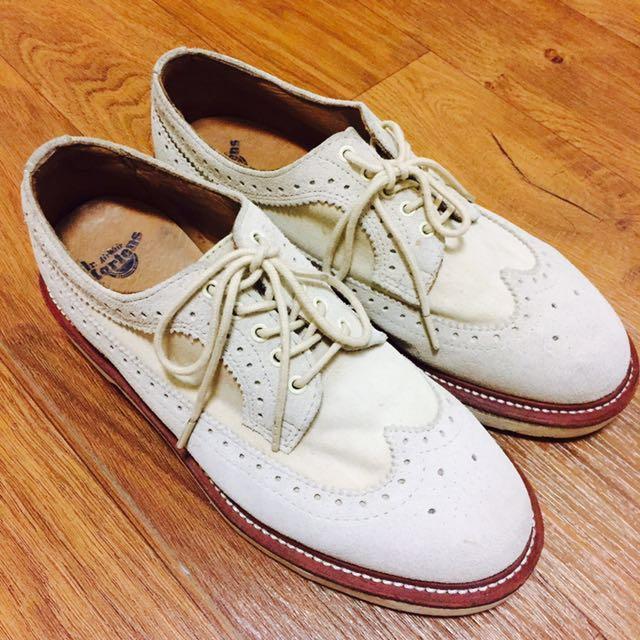 Dr.Martens 馬丁 雕花鞋