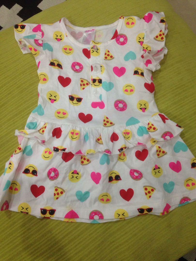 Emojis Girl's Dress