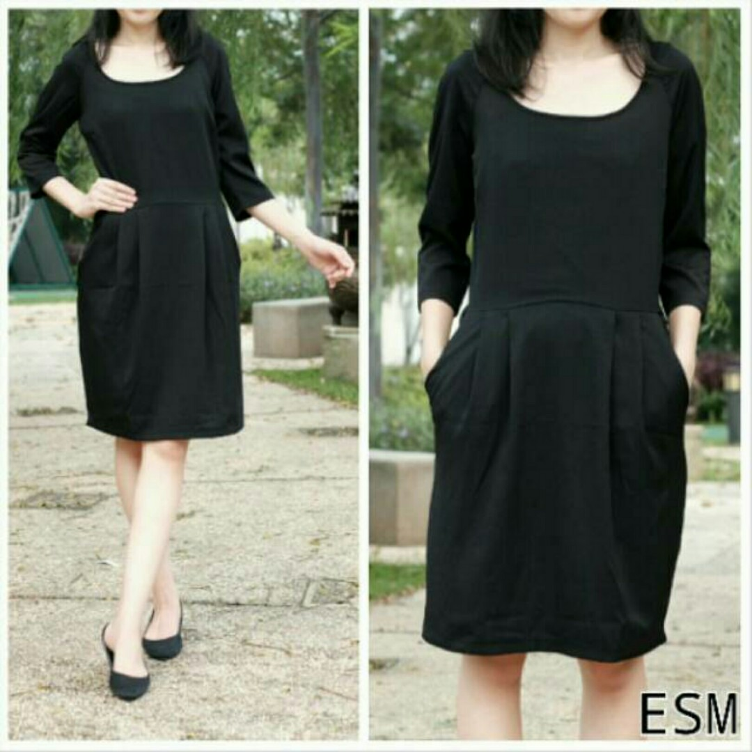 Esmara black dress