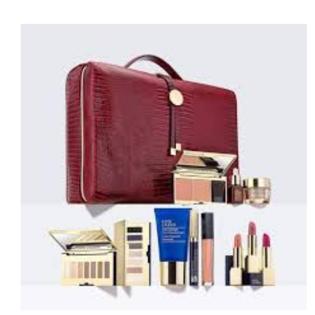 Estee Lauder 2017 Holiday Blockbuster Christmas Skincare and Makeup Kit (11 items) Asian Version