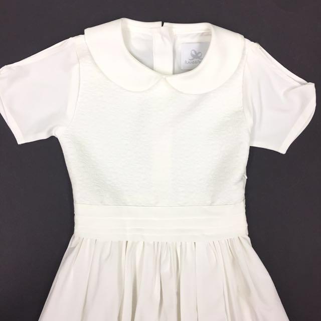 First Communion/Graduation White Dress 8-9yo