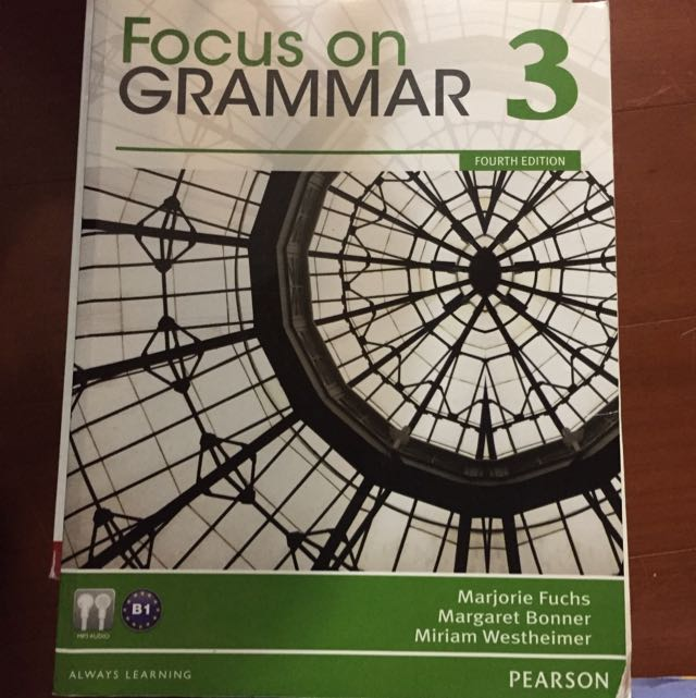 Focus On Grammar 3 #出清課本