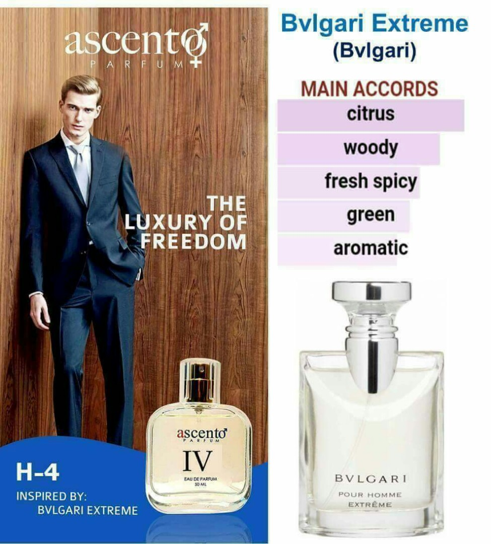 For Homme Inspired By Bvlgari Extreme Health Beauty Perfumes