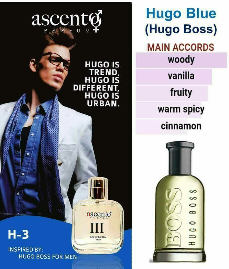 For Homme Inspired By Hugo Boss Health Beauty Perfumes Nail
