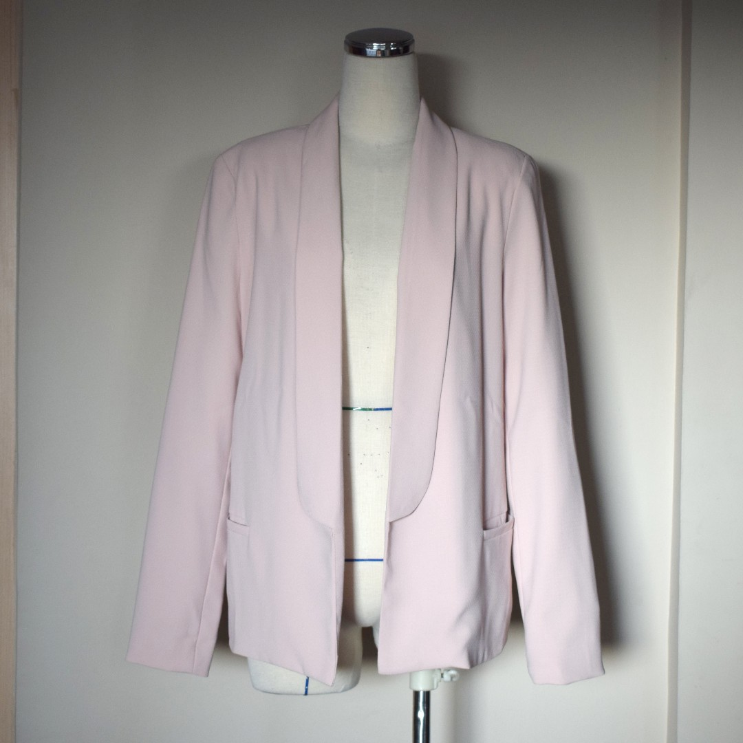 FOREVER21 Pink / Salmon Blazer
