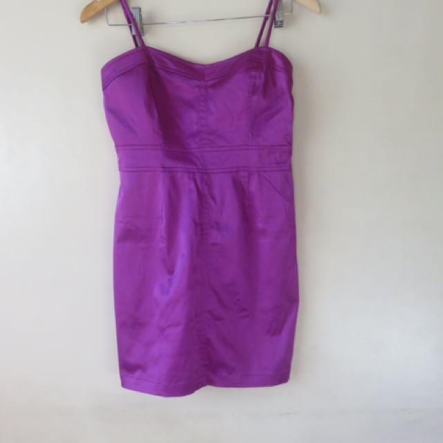 Forever 21 Satin Mini Dress