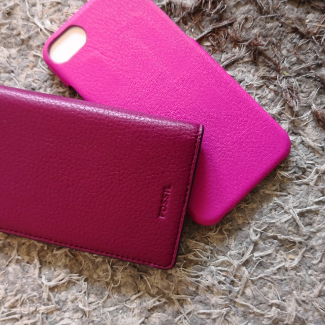 Fossil Wallet & Phone cover Iphone 6/7