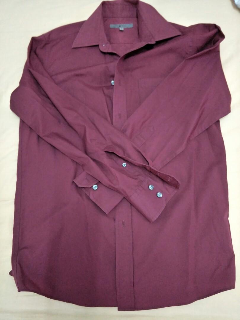 G2000 burgundy shirt