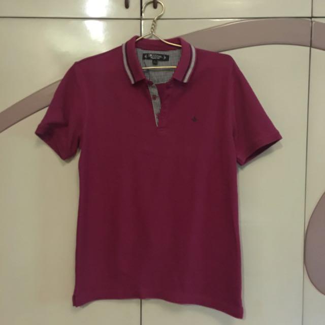 <G2000 Men> Purple Collared Shirt