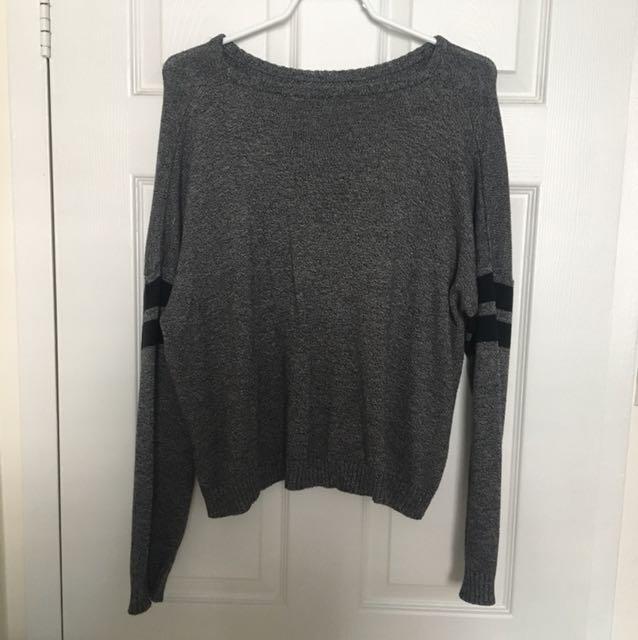 Grey Brandy Melville Knit Sweater