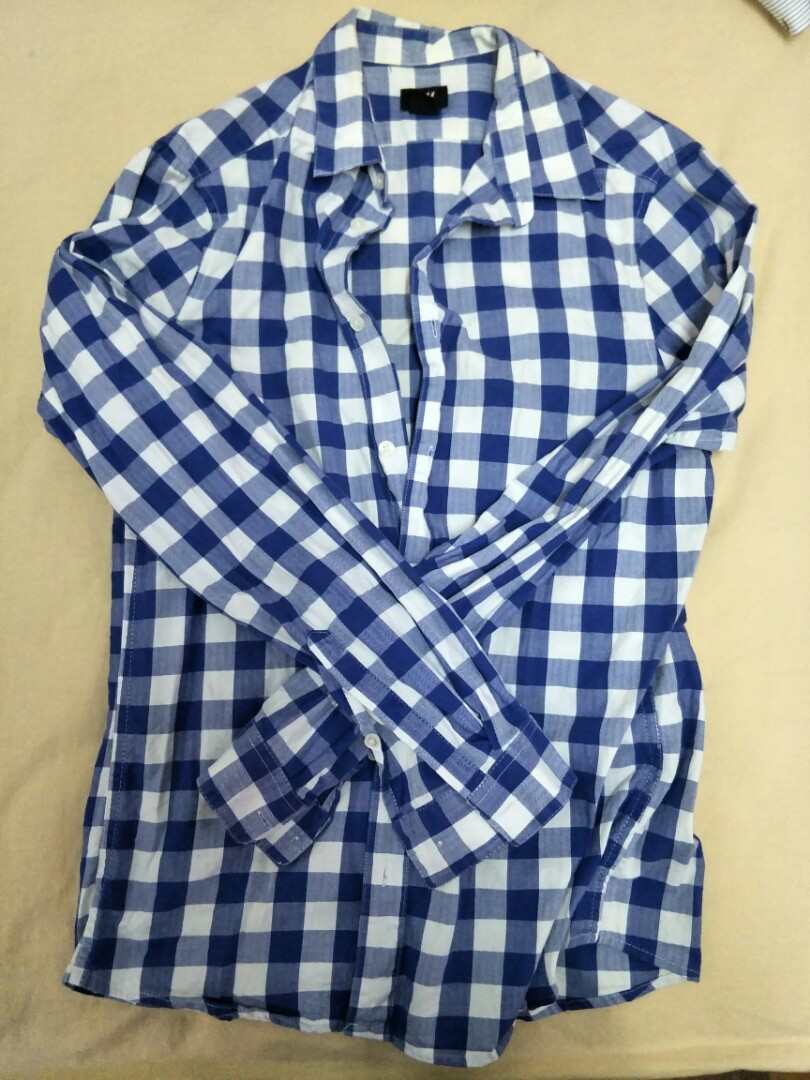 H&M checkered shirt
