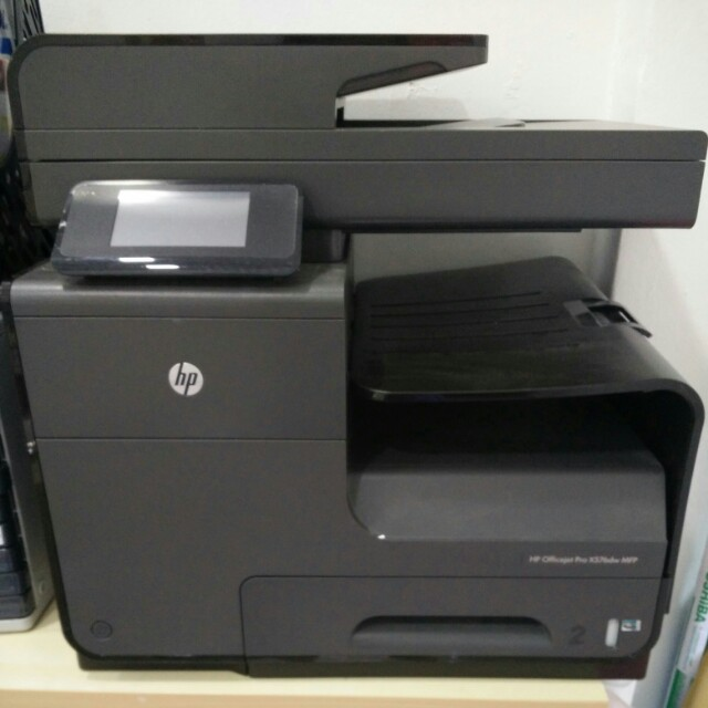 Hp Officejet Pro X576dw Multifunction Printer Electronics Others