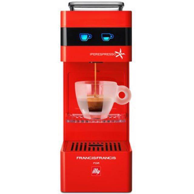 illy Y3 膠囊咖啡機 義大利製 全新