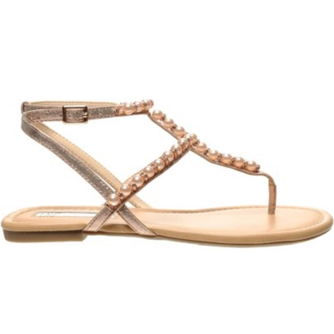 5103adc8a6e INC International Concepts I.N.C. Madigane Embellished Flat Sandals ...