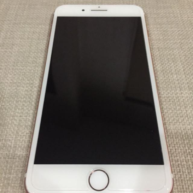 IPHONE 7 PLUS 128GB ROSE GOLD LIKE NEW (LOCK ICLOUD)