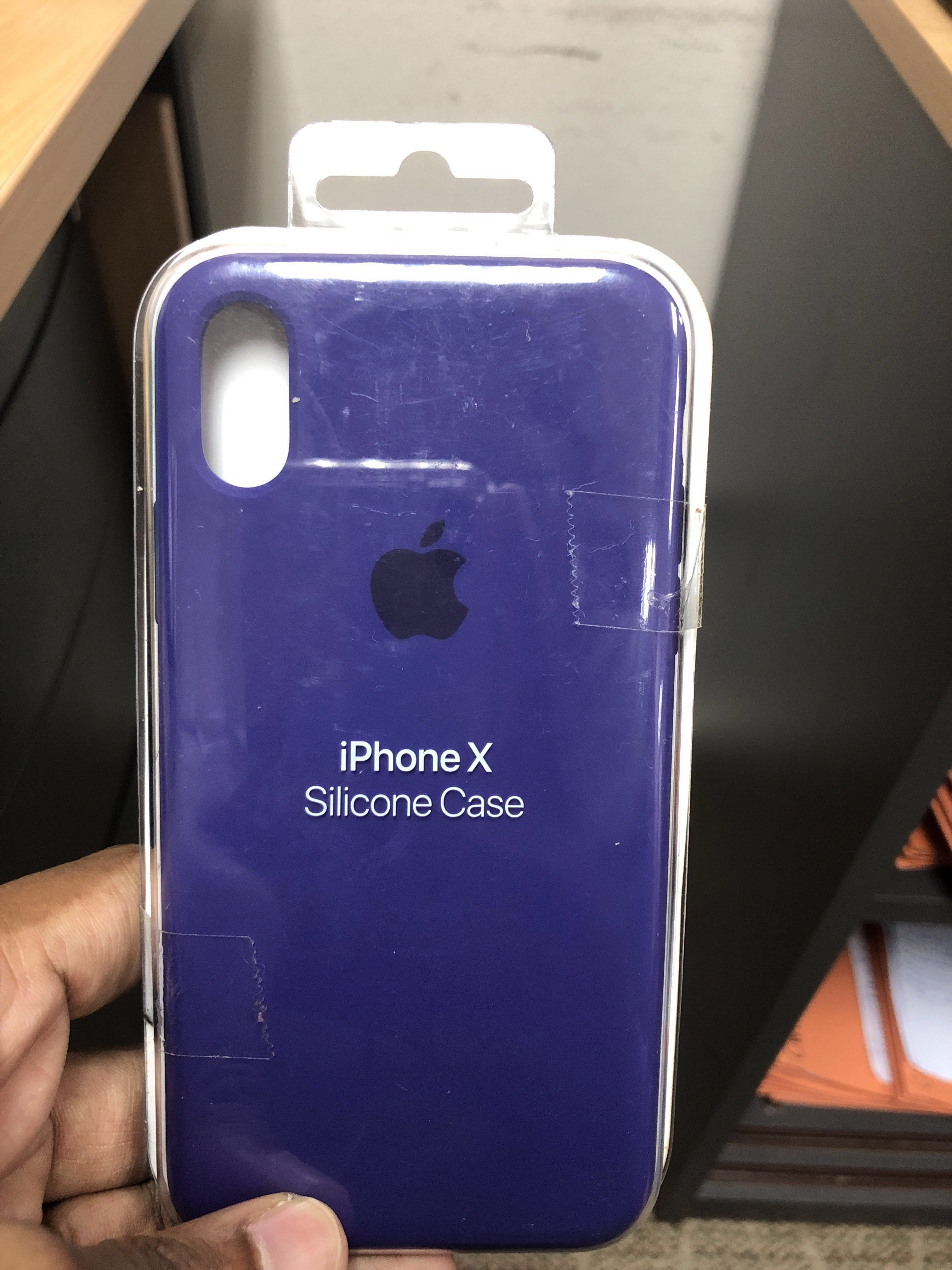 outlet store 55101 63c3b Iphone X - ultra violet apple silicon case