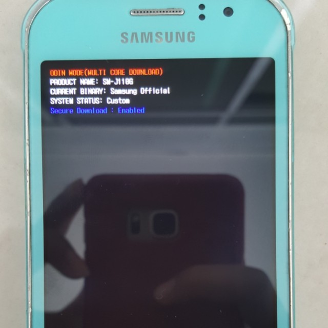 Samsung J100h Odin Download