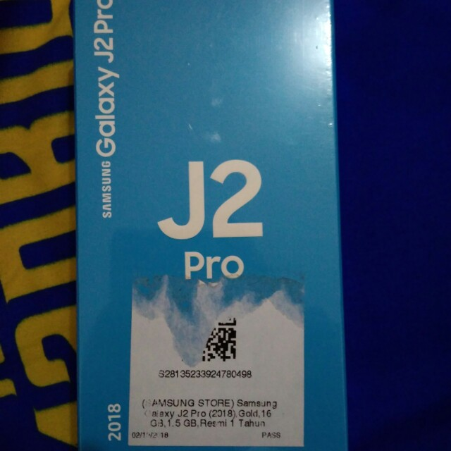 Samsung Galaxy J2 Pro Gold Telepon Seluler Tablet Ponsel Android Di Carousell