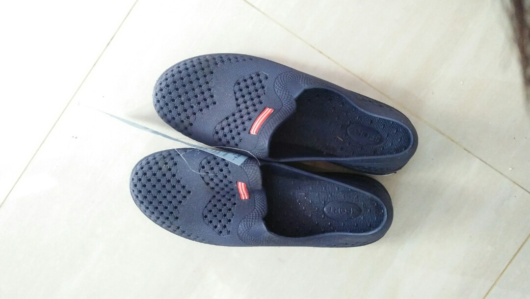 Jelly Navy Shoes