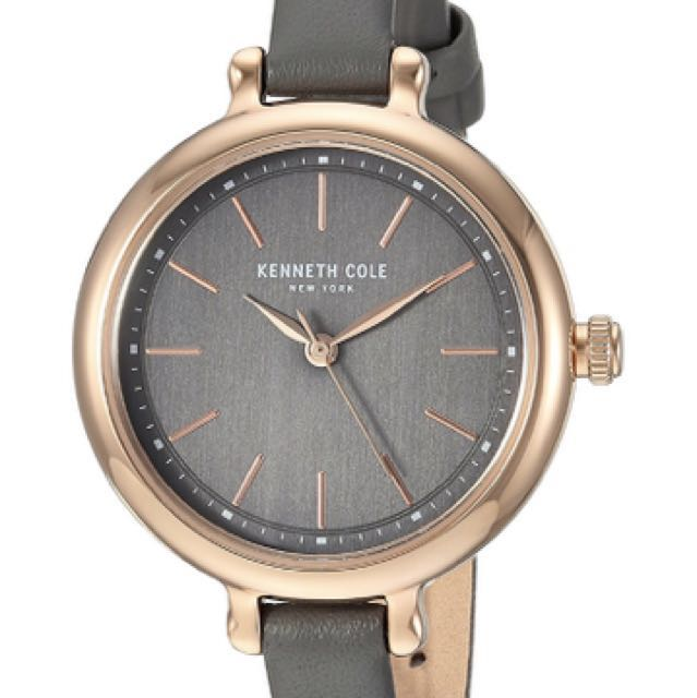 aebd4a27310 Kenneth Cole New York Women s Quartz Stainless Steel and Leather ...