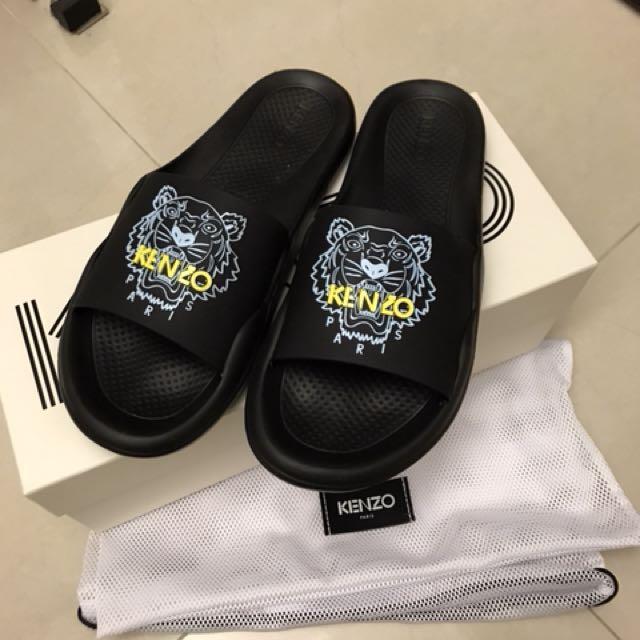 Kenzo 預購 黑色 粉色拖鞋代購