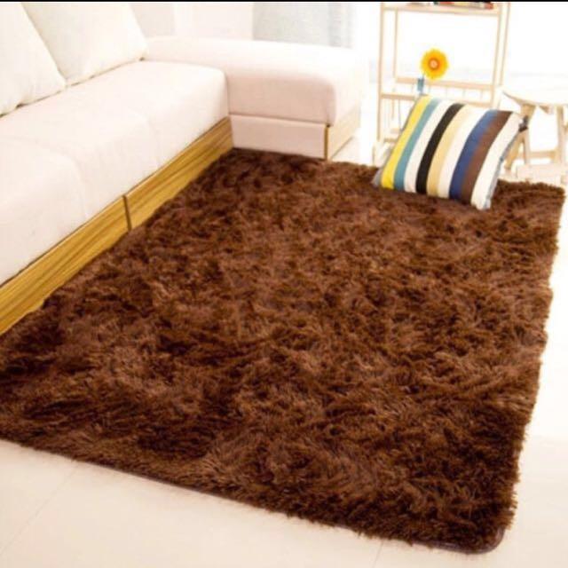 [LAST ONE!] Dark Brown Rug (Carpet)