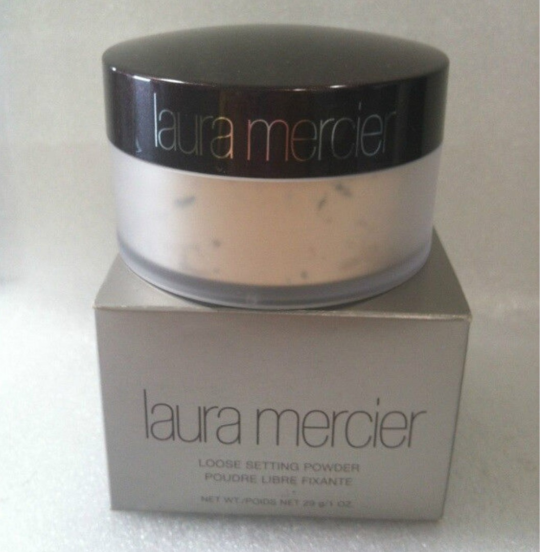 LAURA MERCIER LOOSE SETTING POWDER 29g./1oz TRANSLUCENT 100% Authentic Product (PRICE IS FIRM, NO OFFERS) AS SEEN USED BY Bella Fiori