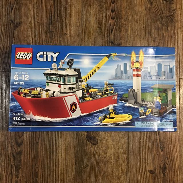 Baukästen & Konstruktionsspielzeug 2 and 3 Only Lego City 60109 Fire Boat Instruction Manuals 1 LEGO Bau- & Konstruktionsspielzeug
