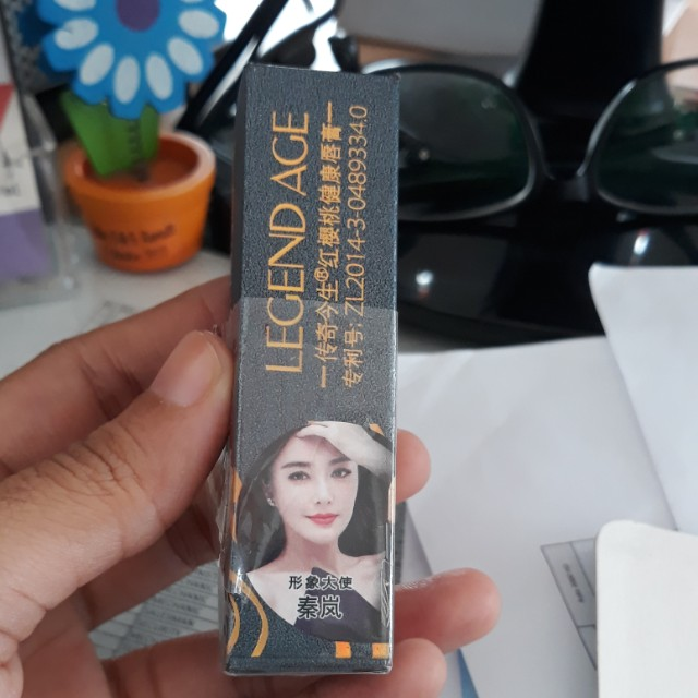 Lipstik import legend age